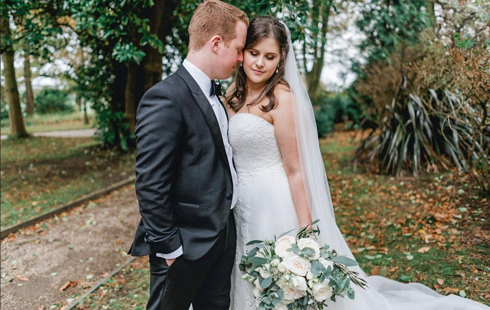 Wedding natural portrait enhancement