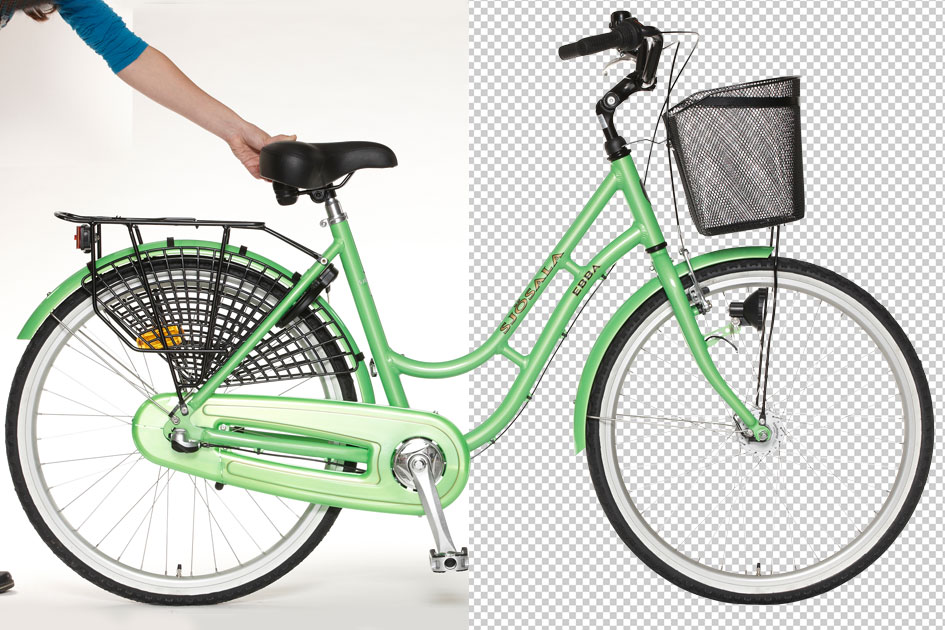 Cycle image background removal