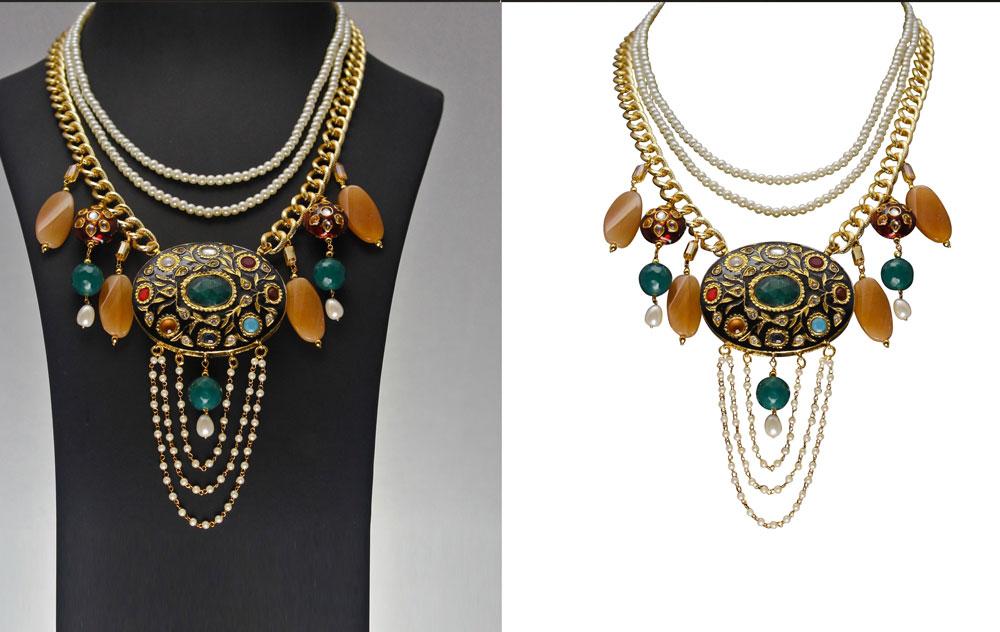 high end jewelry retouching